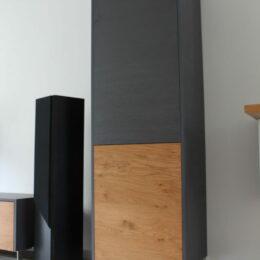 Tv dressoir met kleine werkplek