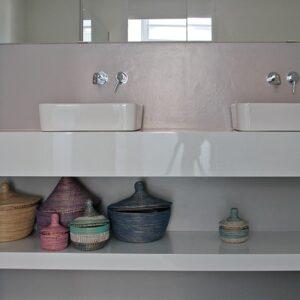 Badkamer wastafelschap