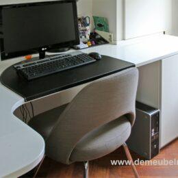 Thuiswerkplek hoek bureau blad