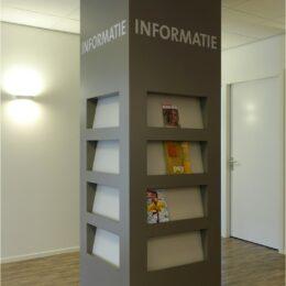 informatiezuil om kolom