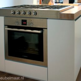 keukenblok met eiken blad