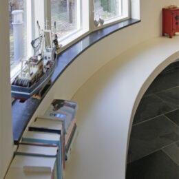 ronde vensterbank